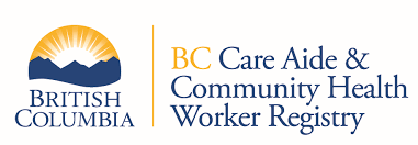 BC Care Aide & Community Health Worker Registry Logo