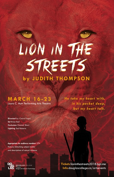 Lion Streets Poster